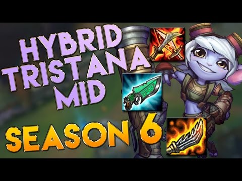 AP/Hybrid Tristana Mid Season 6 Gameplay - League of Legends