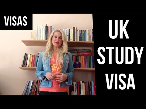 Interview Questions for a UK Study Visa- english video