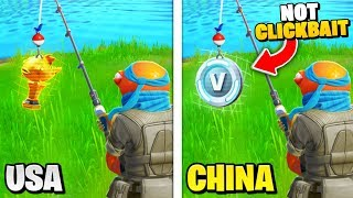 Top 10 Secrets You DIDN'T Know About Fortnite CHINA!