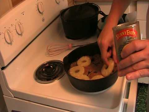 The Best Cast Iron Pineapple Upside Down Cake Ever Part 1 Of 4
