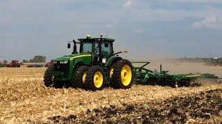 2015 John Deere 8345R & 2623VT - Farm Progress Show 2015
