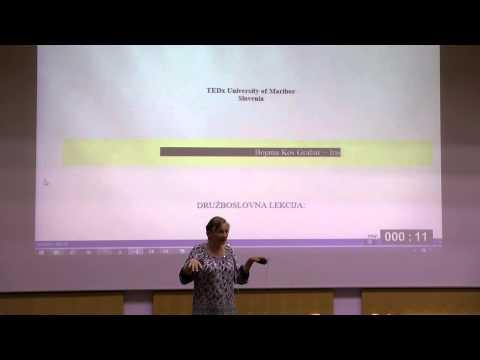 Deantropologizirajmo ugodje | Bojana Kos Grabar - Iris | TEDxUniversityofMaribor
