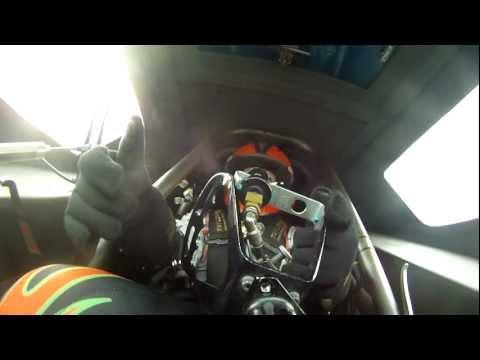 Top Fuel Funny Car On Board