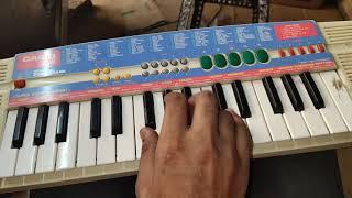Khuda gawah song second part piano video