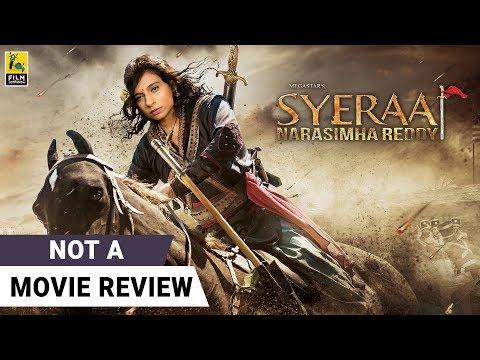 Sye Raa (Hindi)  Not A Movie Review by Sucharita Tyagi   Chiranjeevi   Film Companion