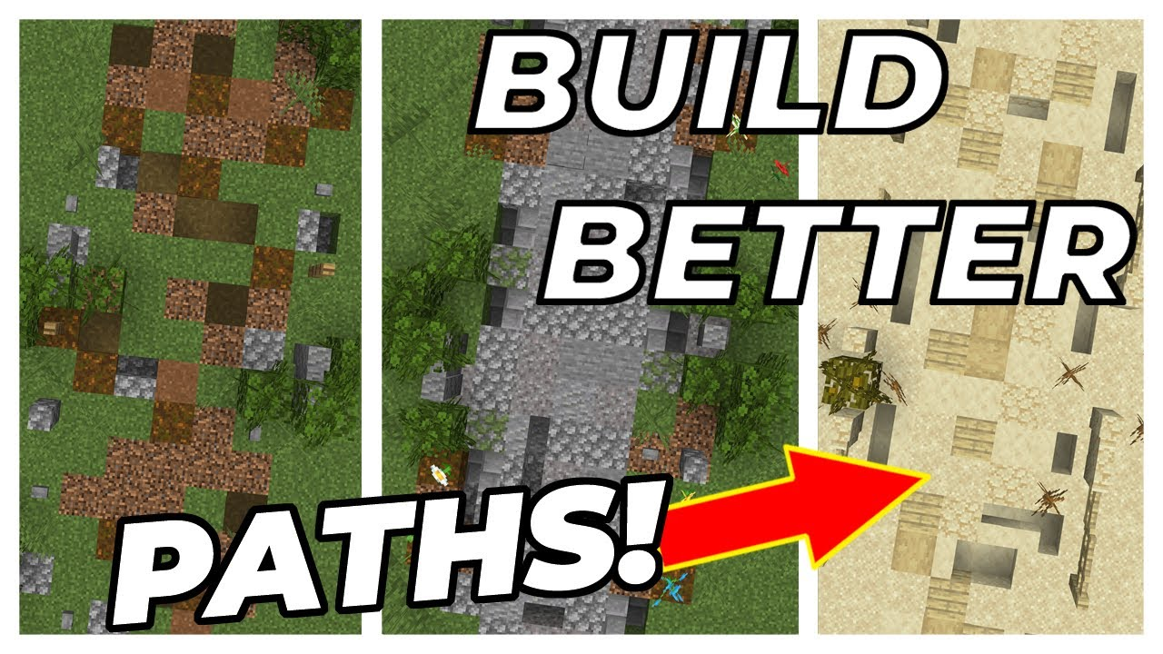 How to Build Awesome Paths in Minecraft Bow Tie's Best Tips