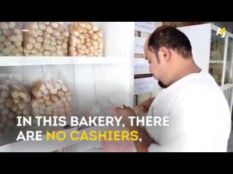 100% trust shop, A bakery in Makkah with no cashiers {And absolutely no cameras!}