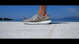 bf19853d6df8a7 adidas ultra boost 3.0 trace khaki tan unboxing review on feet german