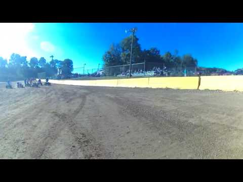 9/24/16 needt. Hamlin. Speedway. Tiger crash on board