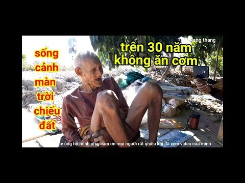 Cuộc sống kỳ lạ của Ông cụ trên 30 năm ăn rau cỏ và uống nước đá để sống