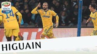 Il gol di Higuain - Napoli - Juventus 0-1 - Giornata 15 - Serie A TIM 2017/18