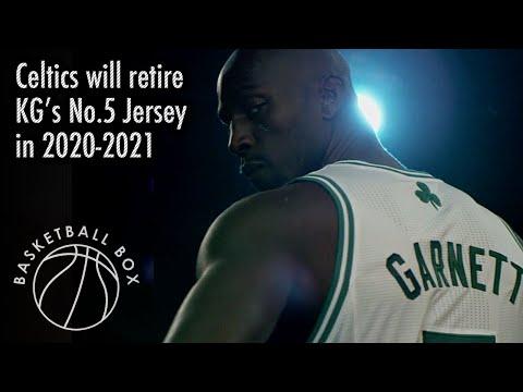 Boston Celtics Will Retire Kevin Garnett's No.5 Jersey In 2020-2021 Season