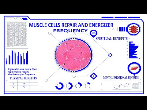 Muscle Cells Repair and Energizer Frequency - Future-channelled Binaural Beat and Isochronics