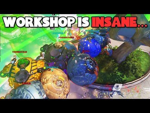 WORKSHOP IS INSANE..!! - NEW Workshop Mode Gameplay - Overwatch