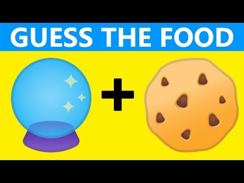 ONLY GENIUS CAN GUESS THE FOOD EMOJI | EMOJI CHALLENGE | EMOJI PUZZLES