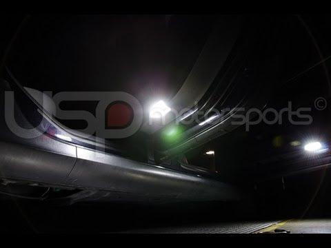MK6 Puddle Light LED Retrofit Kit Installation DIY by USP Motorsports
