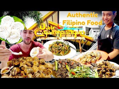 KAPAMPANGAN FILIPINO FOOD Mukbang!! Mangan Tamu! PART 1