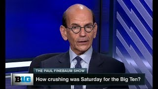 How crushing was Saturday for the Big Ten Football? The Paul Finebaum Show