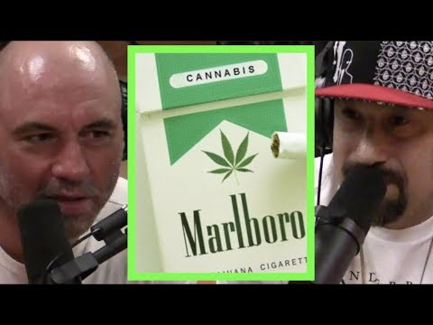 Joe Rogan  Corporations Trying to Control Weed wB-Real
