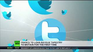 Twitter reacts to Macron giving UK Bayeux Tapestry