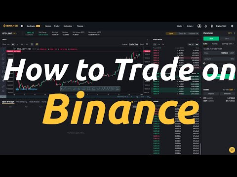 How To Trade On Binance - Binance's Trading Interface Tutorial (Updated)