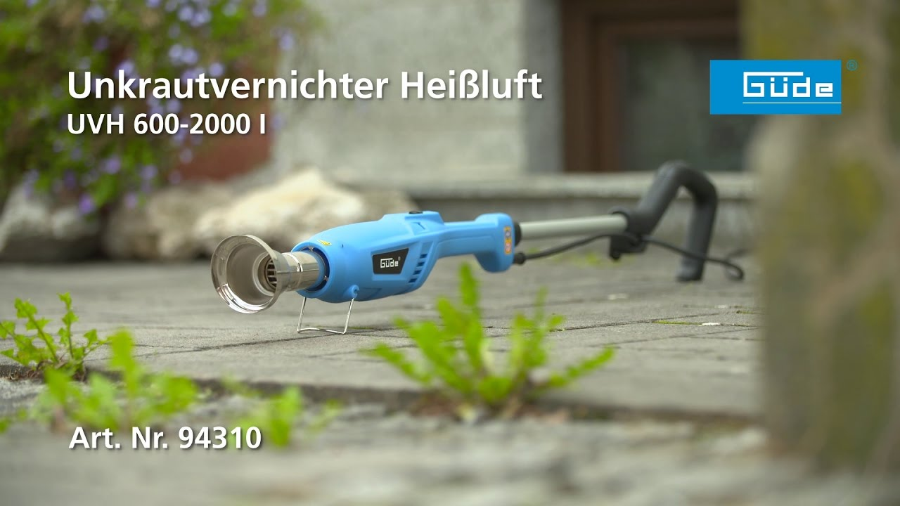 Relativ Güde Unkrautvernichter UVH 600-2000 I - #94310 - YouTube JR58