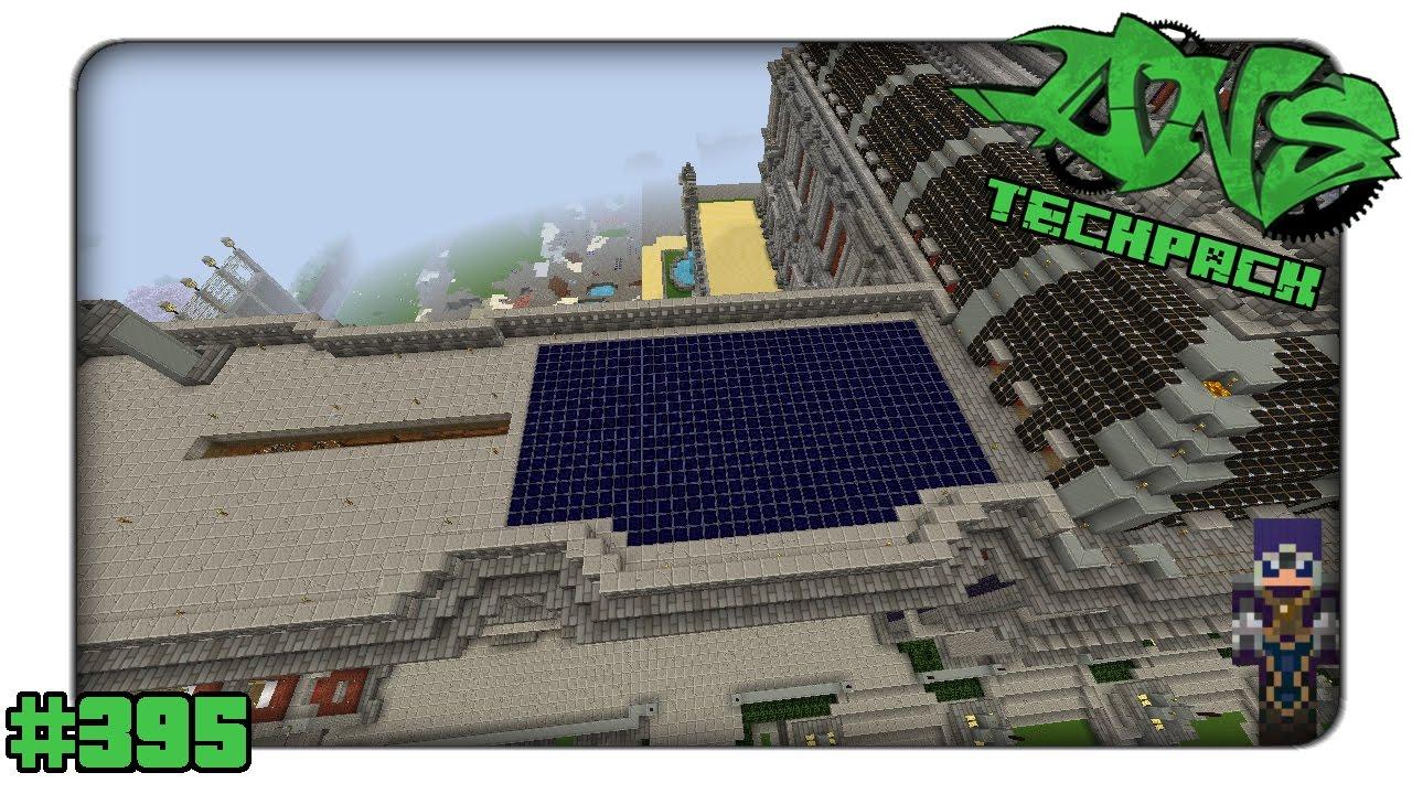 Minecraft Dns Techpack 395 Kleines Leadstone Solar Panel