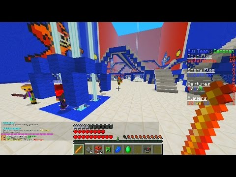 Minecraft Mini-Game: CTF #2 with Vikkstar & JeromeASF