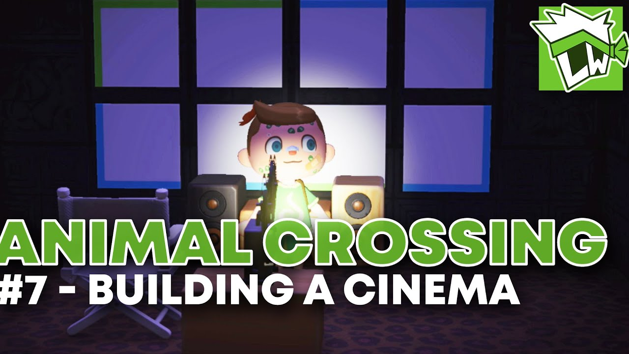 Animal Crossing New Horizons Part 7 Building A Cinema Youtube