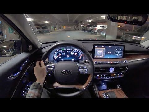 Kia K  Interior Exterior and Drive Luxury Sedan