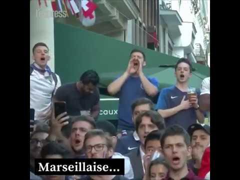 Scènes de liesse en France
