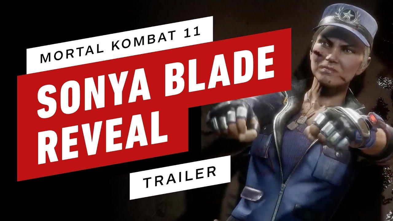 Mortal Kombat 11: Sonya Blade Trailer (Voiced By Ronda Rousey)