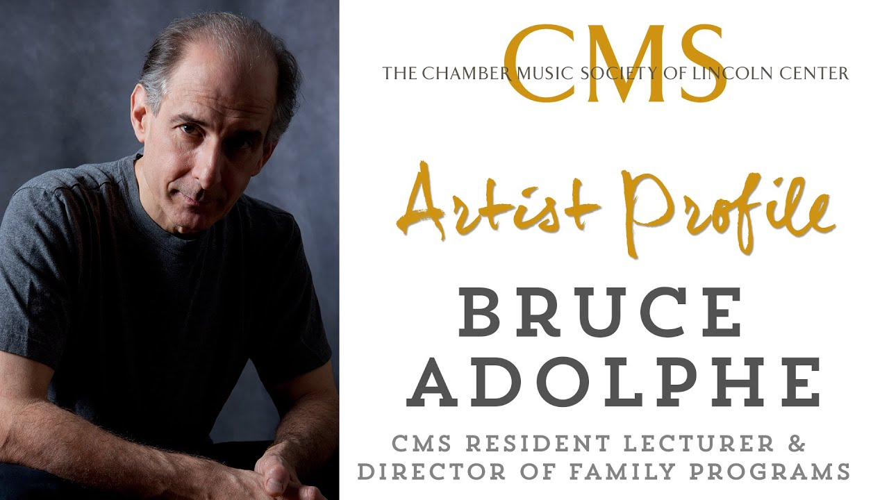 Bruce Adolphe Artist Profile Part 1 - July 2012