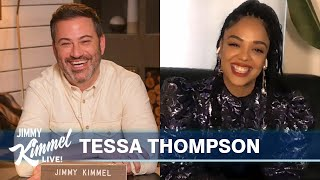Tessa Thompson on Thor, New Year's Eve Accident & Plan After Quarantine