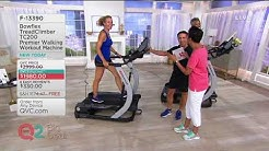 Bowflex TreadClimber TC200 Premier Walking Workout Machine on QVC