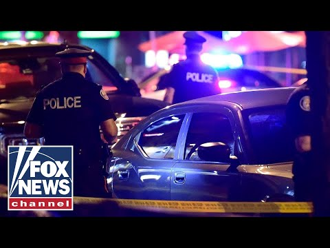Two dead, 12 hurt in Toronto shooting rampage
