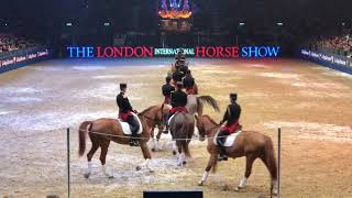 French Police Dressage Team