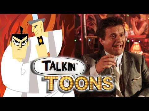 Phil LaMarr Brings Samurai Jack into GoodFellas! (Talkin' Toons w/ Rob Paulsen)