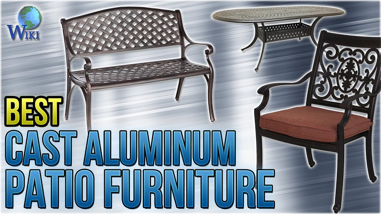 10 Best Cast Aluminum Patio Furniture 2018