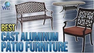 10 Best Cast Aluminum Patio Furniture 2018
