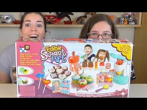 Edible Sweet Art Kit DOUGH POPSICLES