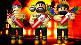 EXTINGUISH EVERY FIRE! | ROBLOX #admiros