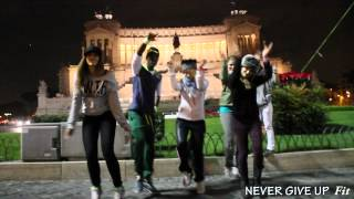 Dale Dale Video Never Give Up Fit. Roma 18 Gennaio 2014. Pala Cavicchi.