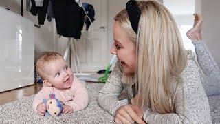 Ein ganz normaler Tag zu viert #family #alltag #baby #vlog