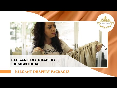 More Elegant DIY Drapery Design Ideas | Galaxy Design Video #194
