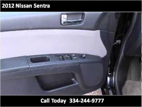 2012 nissan sentra used cars montgomery al youtube. Black Bedroom Furniture Sets. Home Design Ideas