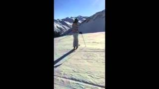 Sterre and Winter skiing Parsenn Thumbnail