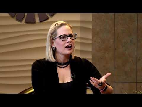 US Congresswoman Kyrsten Sinema