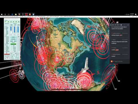 4/02/2017 -- Nightly Earthquake Update + Forecast -- South America + Caribbean Hit as expected