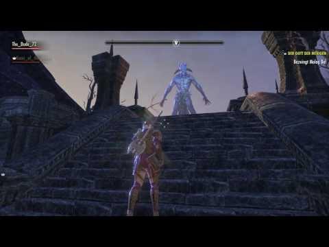 ESO - God of Schemes, Boss Fight (Molag Bal), Last Main Quest, stamina Dragonknight